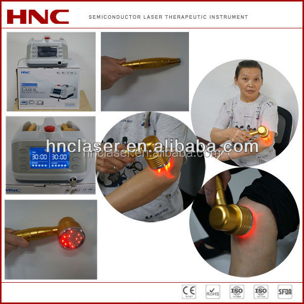 Back and neck pain relief household use low level laser treatment equipment