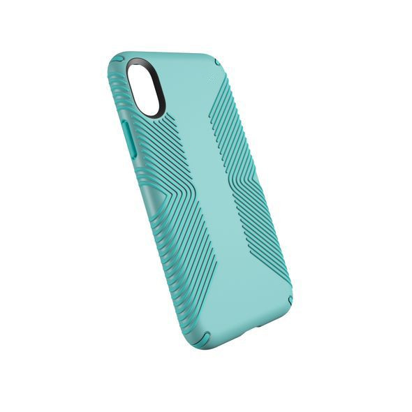 Presidio Candy Shell Rubber Grip Dual Layer Case Cover For iPhone x