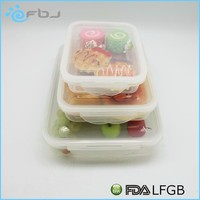 ~ Stackable Nestable plastic fda food container