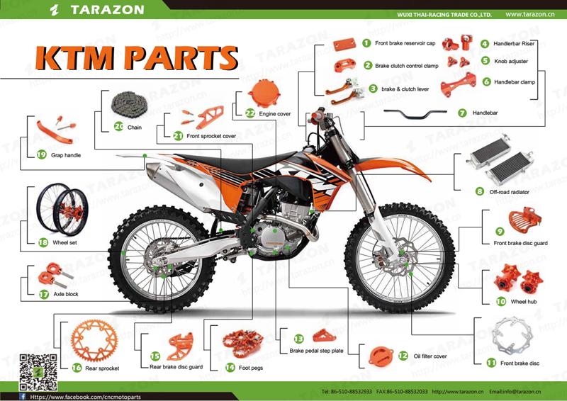 High Performance Aluminum Motorcycle Spare Parts Handlebar ...