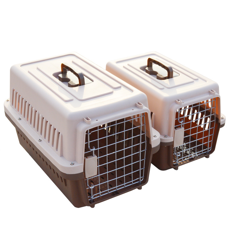 High Quality Strong Pet Carrier Plastic Green