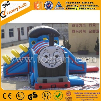 Commercial cheap combo inflatable bouncer A3058