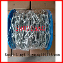 Best Quality A3 Material Electro Galvanized Welded Marine Chain