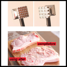 2015 zinc alloy manual Meat Mallet Tenderizer Chicken Beef Steak Hammer Kitchen Tools for cooking