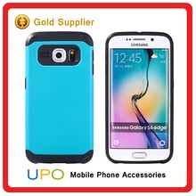 [UPO] Classical Hybrid Shockproof Tough Armor Cell Phone Case for Samsung Galaxy S6 Edge