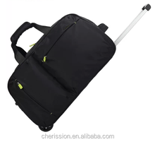 Travel bag on wheels luggage bag