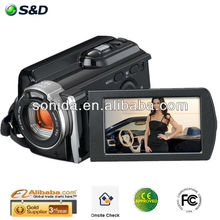 2015 Hot Sale! 1080P 16MP Interpolation 3.0 TFT LCD Display flip ultrahd video camera HDV-603P
