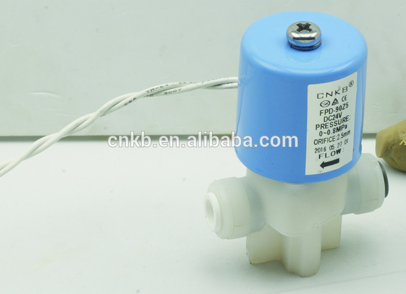 CNKB Water household appliance Inlet water solenoid valve DC12V with 15 years experience