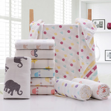 100%cotton bamboo soft muslin fabric baby weave warm blanket 2plys ,4plys,6plys,8plys