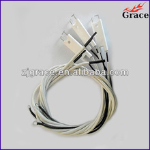 Ceramic ignitor/ceramic electrode/ignition accessory