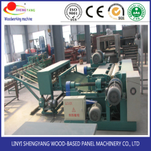plywood veneer composed machine