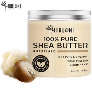 Pure Organic Raw Unrefined Cold-Pressed Great To Use Alone Or DIY Shea Body Butter