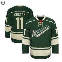 Custom made free freight sublimated ice hockey jerseys china