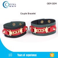 ladies jewelry hand bracelet OEM manufacturer bulk custom logo fashion women charm chain bracelet