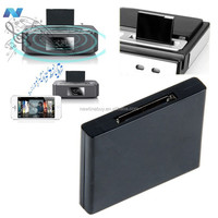 Bluetooth A2DP Music Receiver Audio Adapter for 30Pin Dock Speaker