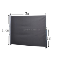 Cheap Aluminum Polyester Side Awning Screen