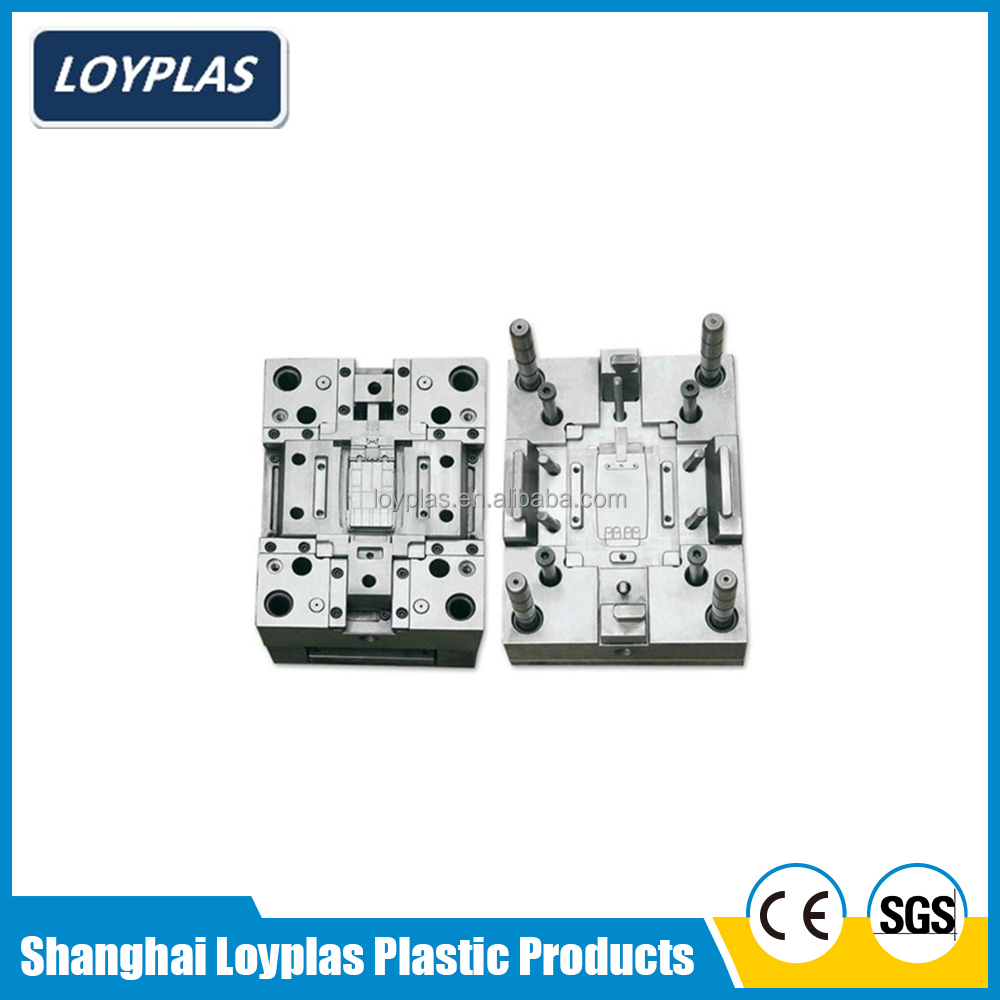 Shanghai factory directly provide customized laptop shell plastic injection mold