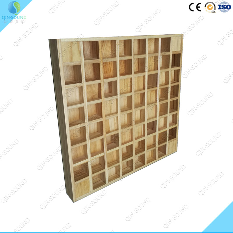 Sound Diffusion QRD Wooden Acoustic Diffuser Panel
