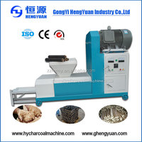 Low investment biomass wood sawdust rods extruding machine