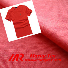 polyester viscose single jersey fabric for sweatshirts