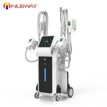 US $734,000 Trade Assurance!! Nubway 4 cryo จับ body slimming fat freezing cryolipolysis เครื่อง