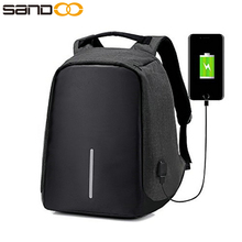 wholesale new design multipurpose waterproof anti theft backpack with usb port