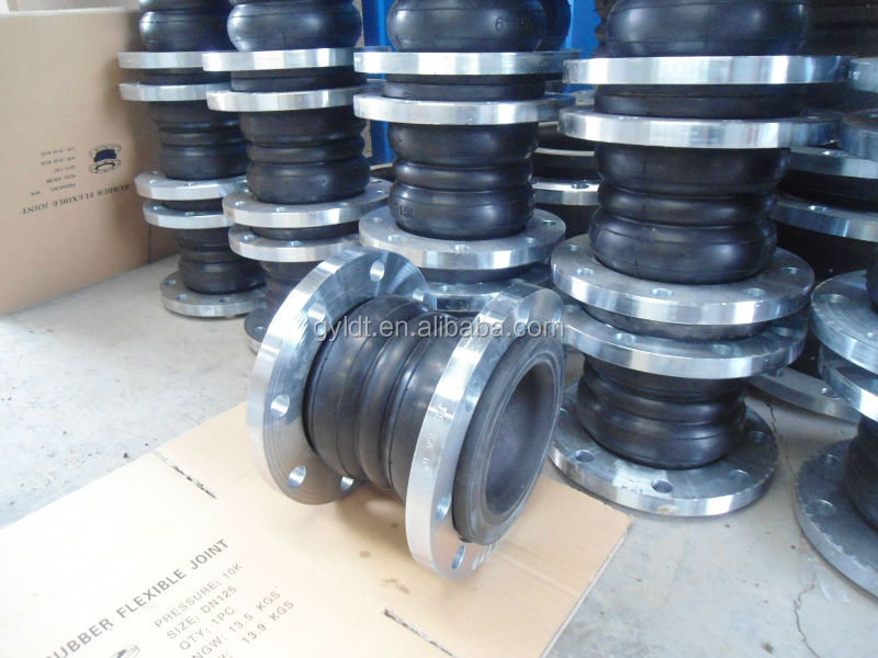 Flexible Double Sphere Type Flanged Rubber Expansion Joint