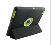 Original design foldable stand wake sleep leather tab housing for iPad 2 3 4 magnetic flip cover