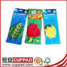 Factory Sale Hanging Flavor Rose Car Air Freshener