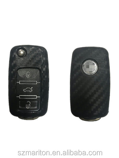 Car Remote key cover 4D silicone carbon fiber key cover for Honda Lexus Jade odyssey with retail package on stock