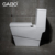 High Rating Square Bowl Floor Mounted Green Ceramic Toilet