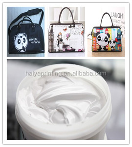 rubber screen printing ink for bag factory