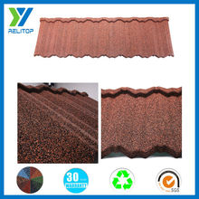 Villa natural color new arrival stone coated roofing tile