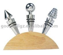Zinc Alloy Wine Stopper,Bar Accessories bottle Stopper