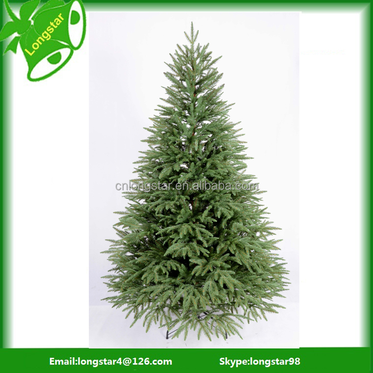 Plastic artificial pine needles outdoor unique christmas trees