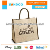Promotional Easy Jute Shopper