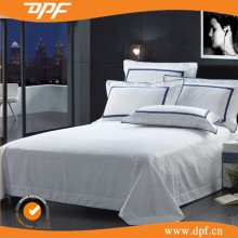 Lowest Price White Plain Cotton Bed Sheet