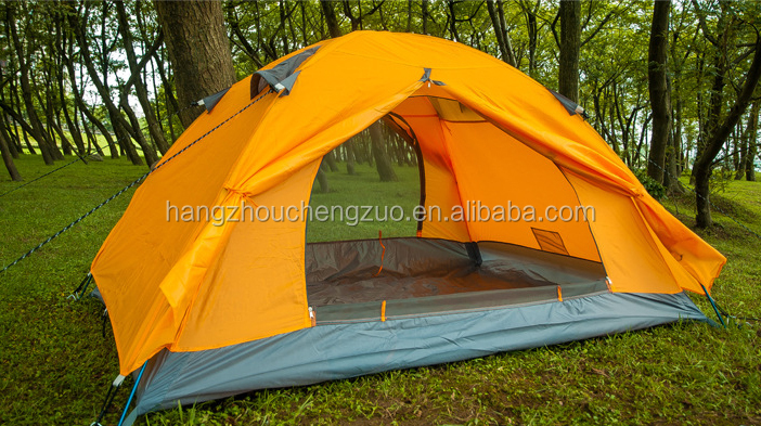Hot Sale Classical 3 Person Waterproof Mountaineering Tent, LY-006,3 Person Outdoor Climbing Tent