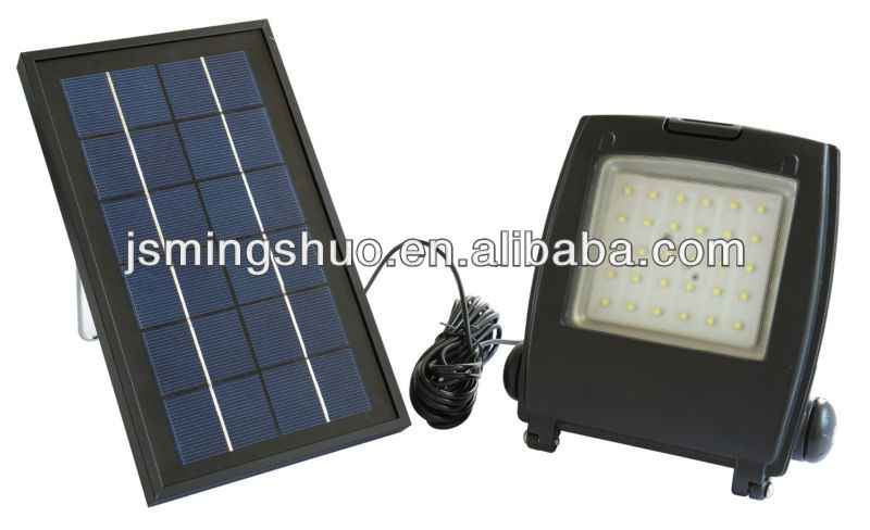 6 volt Anti glare glass solar panel light