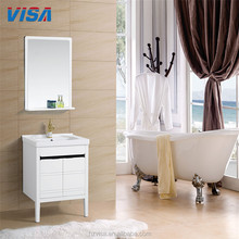 New supplier style washroom vanity factory pvc bathroom cabinet