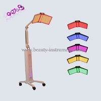 PDT led skin caring equipment / 7 color pdt led light therapy / led pdt bio light therapy DO-P04