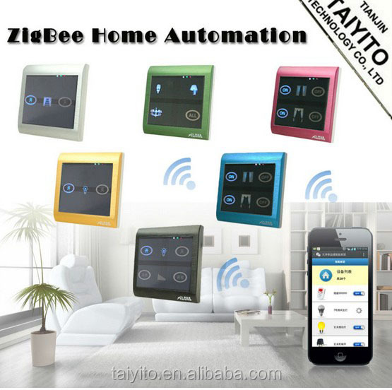 home automation gateway Maufacturer home automation system domotics home zigbee wifi remote switch