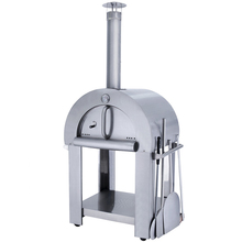 Freestanding 430 Stainless Steel Wood Fired Outdoor Pizza Oven