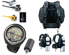 New Tusa Performance Gear Scuba Package With Aeris Elite T3 Dive Computer