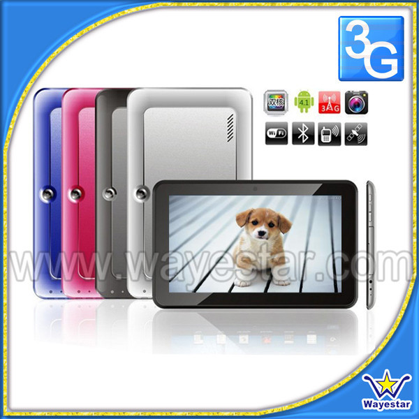 9inch Tablet Pc 3g sim card slot / dual core 3g tablet