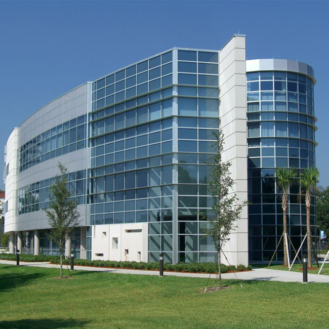 High quality aluminum curtain wall for building decoration