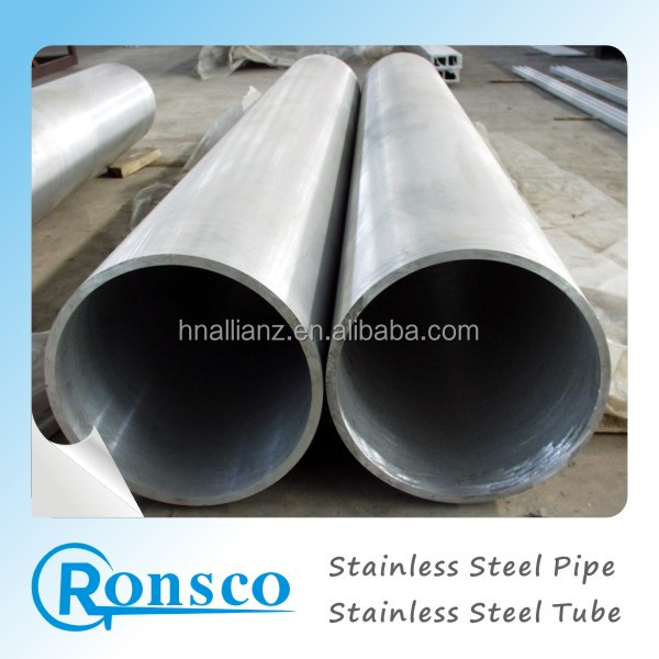 "stainless steel pipe 201 202 6"" 30mm thick 9mm dia non magnent 12x18h10t astm a312 904l grade 600 polished in foshan city"