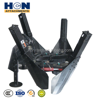 4 Blades Tree Spade Attachments For Skid Steer Loader