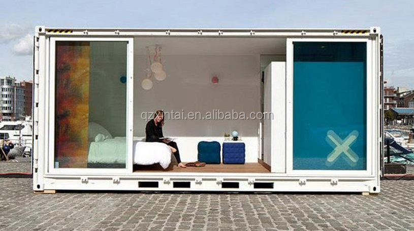 20feet standard container house container size / luxury green living container house