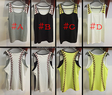 New arrival Baseball and softball Sports Tank Top